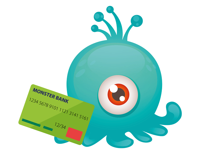 The bank monster