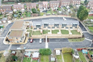 Transformation project to convert three garage sites into new communities is nearing completion
