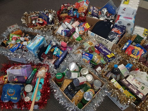 Staff Donate To Help Those In Need In Kent At Christmas