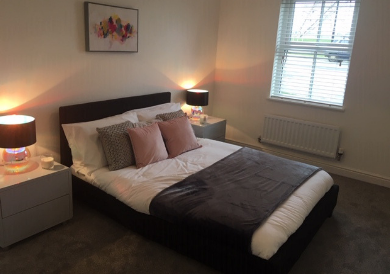 Ebbsfleet, Claygate bedroom | mhs homes