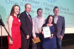 Local homeless charity recognised at annual awards