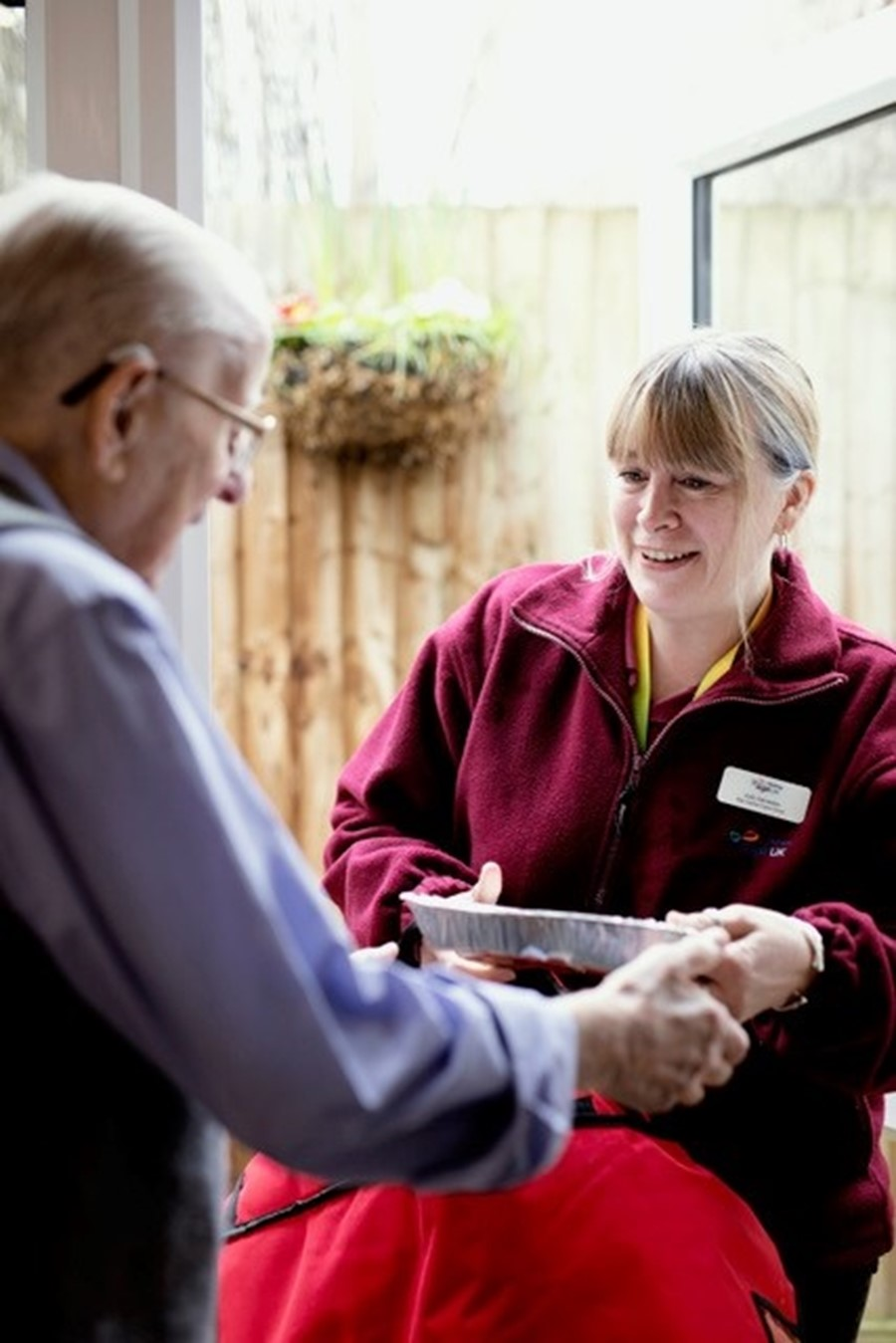 We team up with Age UK Medway to support our vulnerable customers