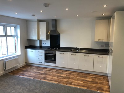 Inside of apartment at Spencer's Field, Marden, Maidstone